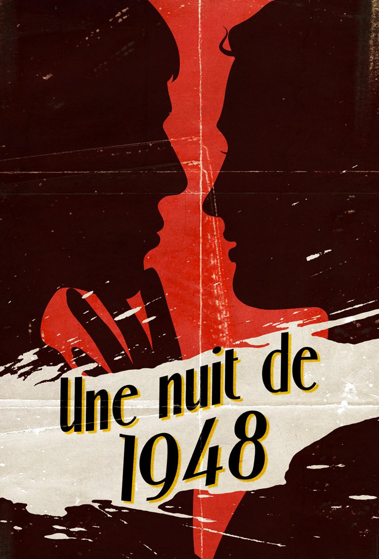 Une nuit de 1948, un polar publié sur l'application mobile Rocambole